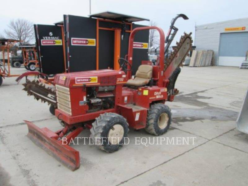 DITCH WITCH (CHARLES MACHINE WORKS) TRANCHEUSES 3700 equipment  photo 1