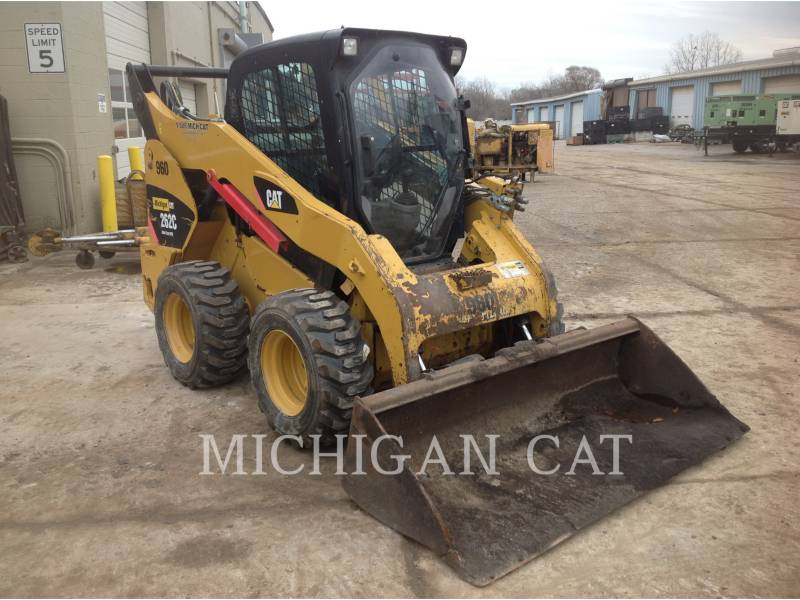 CATERPILLAR MINICARREGADEIRAS 262C AHQ equipment  photo 1