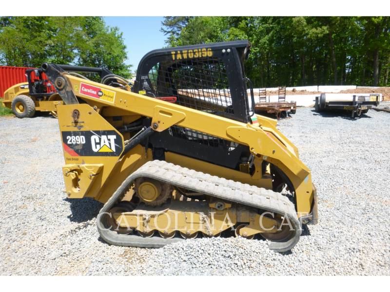 CATERPILLAR CARGADORES DE CADENAS 289D equipment  photo 5