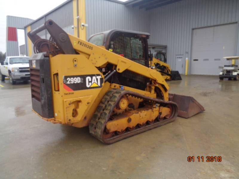 CATERPILLAR UNIWERSALNE ŁADOWARKI 299D2 equipment  photo 5