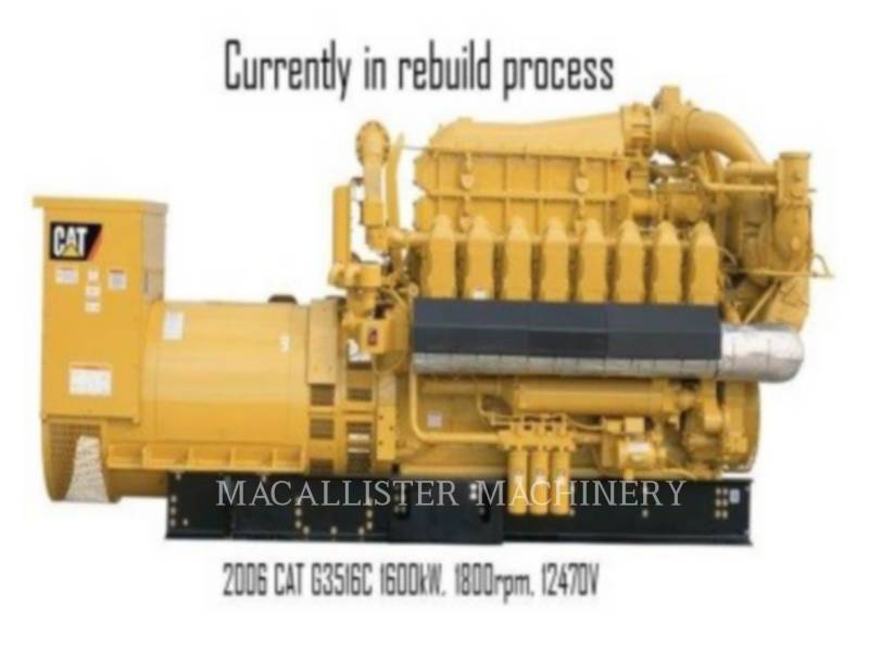 CATERPILLAR STATIONARY GENERATOR SETS G3516C equipment  photo 1