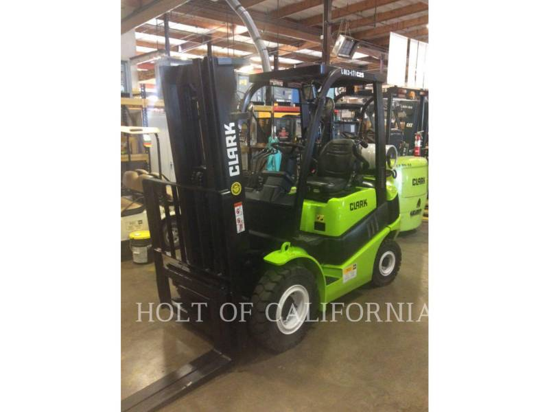 CLARK FORKLIFTS C25L equipment  photo 2