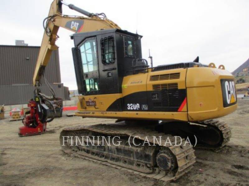 CATERPILLAR FORESTRY - PROCESSOR 320DFMHW equipment  photo 3