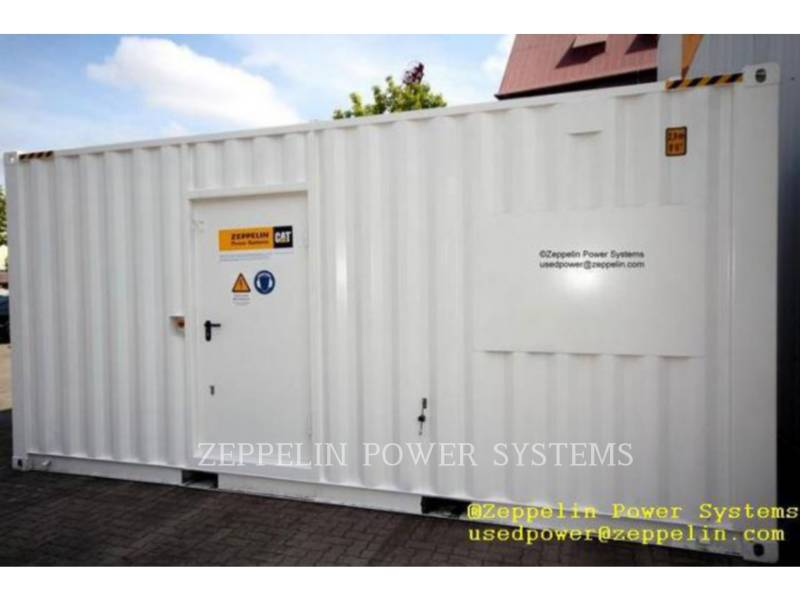 CATERPILLAR PORTABLE GENERATOR SETS (OBS) C18 CAT REBUILD CONTAINER equipment  photo 1