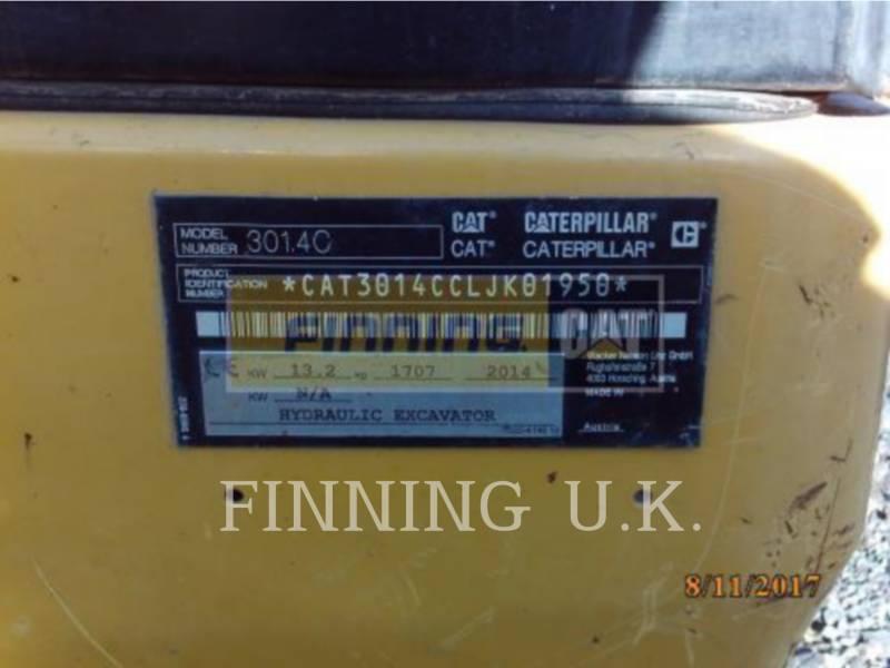 CATERPILLAR PELLES SUR CHAINES 301.4CEXCB equipment  photo 2