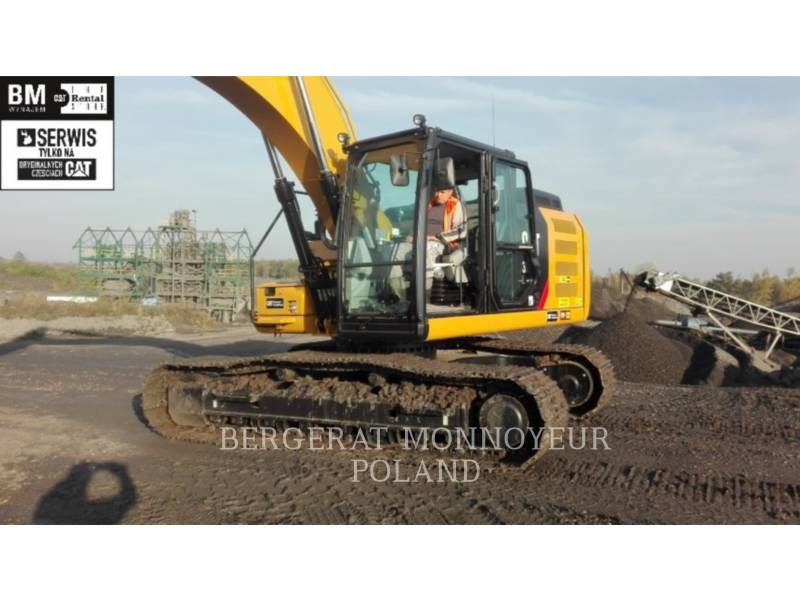 CATERPILLAR KETTEN-HYDRAULIKBAGGER 320F equipment  photo 1