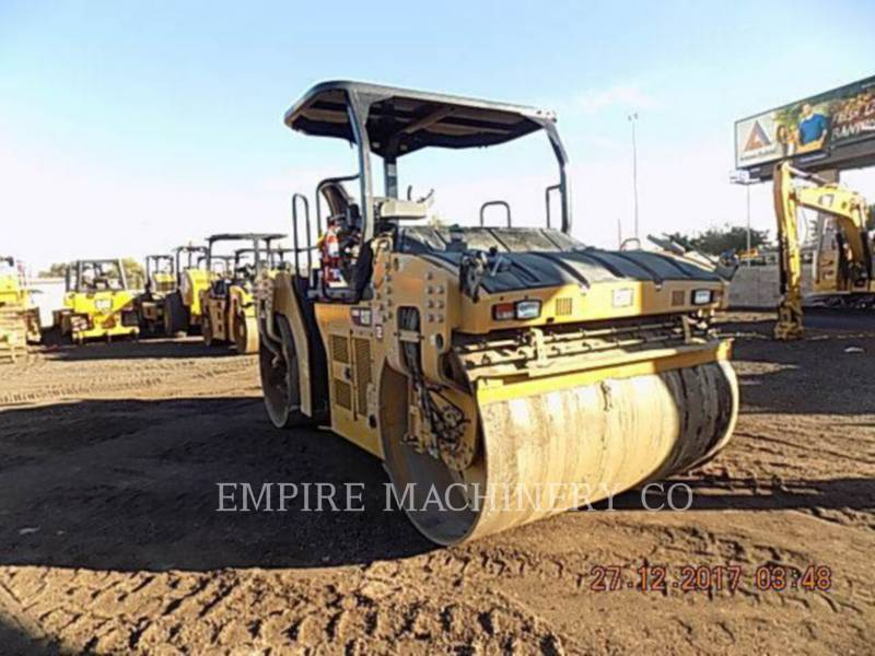 CATERPILLAR COMPACTEURS TANDEMS VIBRANTS CB66B equipment  photo 3