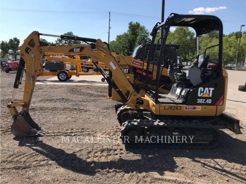 CATERPILLAR TRACK EXCAVATORS 302.4D equipment  photo 1