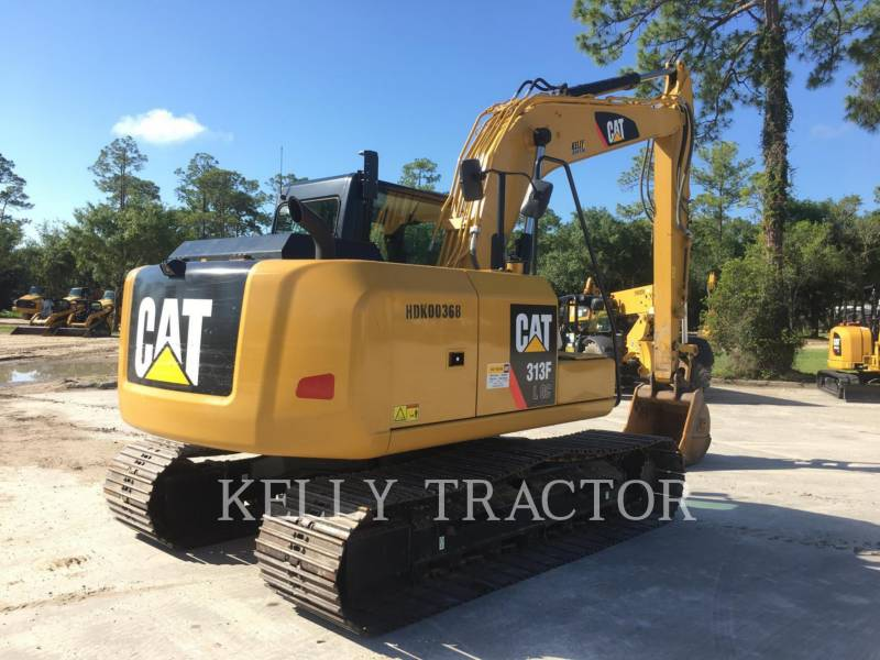 CATERPILLAR TRACK EXCAVATORS 313FLGC equipment  photo 8
