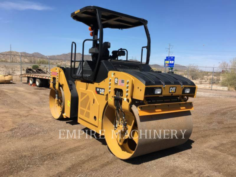 CATERPILLAR TAMBOR DOBLE VIBRATORIO ASFALTO CB7 equipment  photo 1