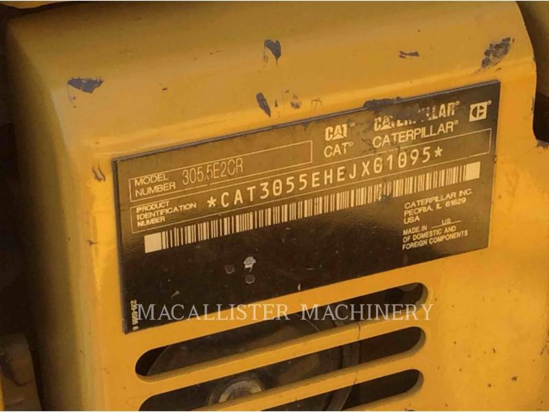 CATERPILLAR KETTEN-HYDRAULIKBAGGER 305.5E2CR equipment  photo 5