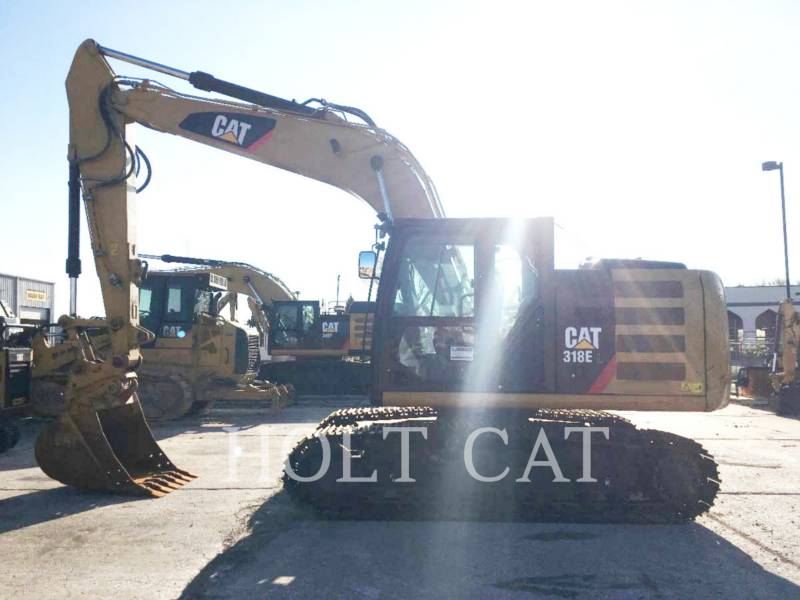 CATERPILLAR 履带式挖掘机 318EL equipment  photo 2