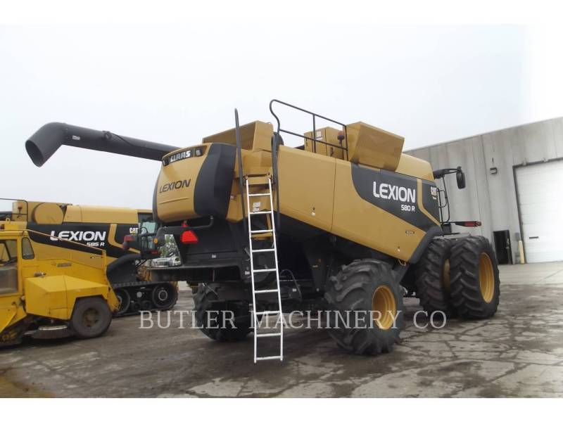 LEXION COMBINE COMBINÉS LEX 580R equipment  photo 3