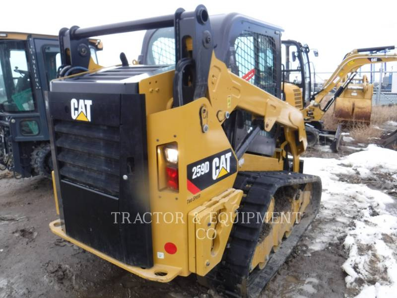 CATERPILLAR CHARGEURS COMPACTS RIGIDES 259D H2CB equipment  photo 5