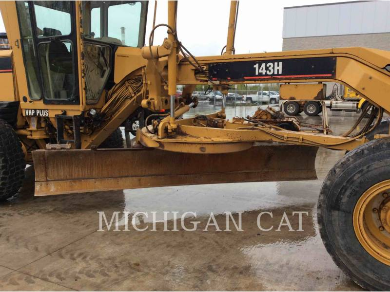 CATERPILLAR MOTOR GRADERS 143H equipment  photo 8