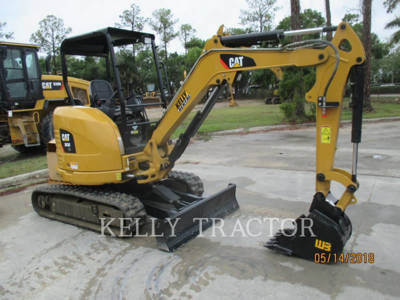 CATERPILLAR TRACK EXCAVATORS 303ECR equipment  photo 1