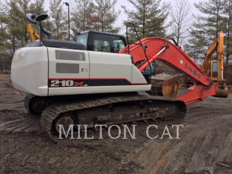 LINK-BELT CONST. TRACK EXCAVATORS 210 X3 equipment  photo 5