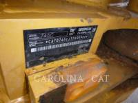 CATERPILLAR TOMBEREAUX ARTICULÉS 745C equipment  photo 12