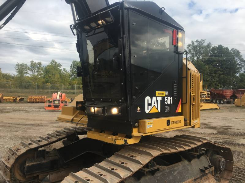 CATERPILLAR FORESTRY - FELLER BUNCHERS - TRACK 501HD equipment  photo 2