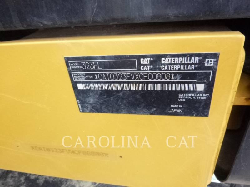 CATERPILLAR PELLES SUR CHAINES 323FL TH equipment  photo 10