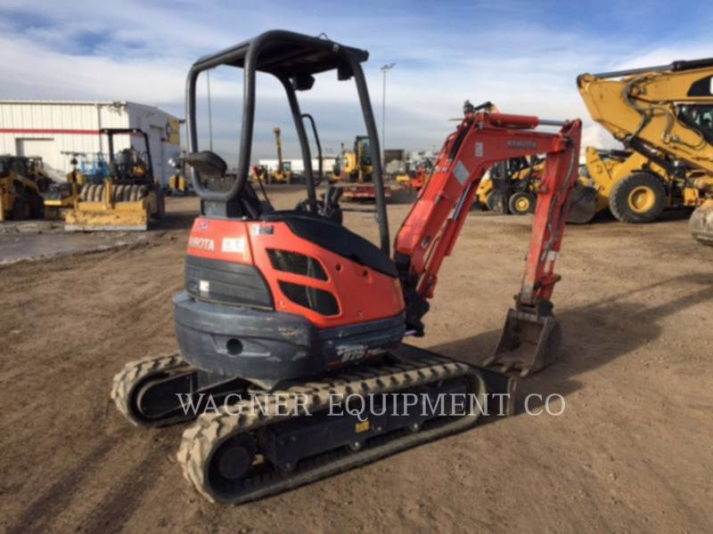 KUBOTA TRACTOR CORPORATION TRACK EXCAVATORS U25 equipment  photo 3