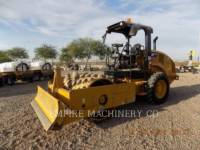CATERPILLAR EINZELVIBRATIONSWALZE, BANDAGE CP44B equipment  photo 4