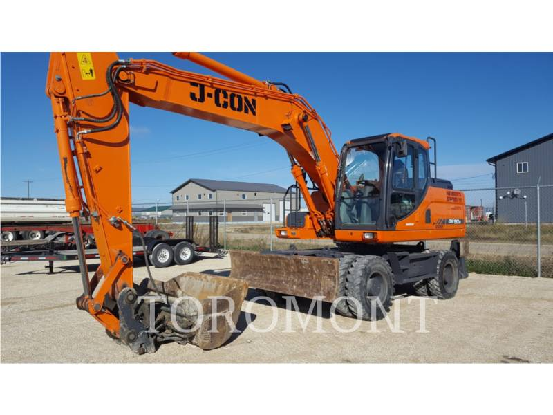 DOOSAN INFRACORE AMERICA CORP. TRACK EXCAVATORS DX190W-3 equipment  photo 3