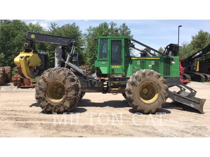JOHN DEERE ATTIVITÀ FORESTALI - SKIDDER 648H equipment  photo 5