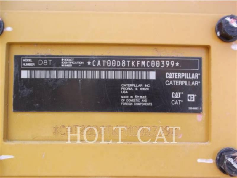CATERPILLAR 履带式推土机 D8T equipment  photo 5