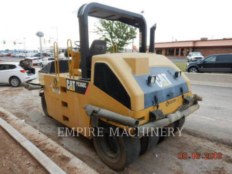 CATERPILLAR COMPATTATORI GOMMATI PNEUMATICI PS-360C equipment  photo 2