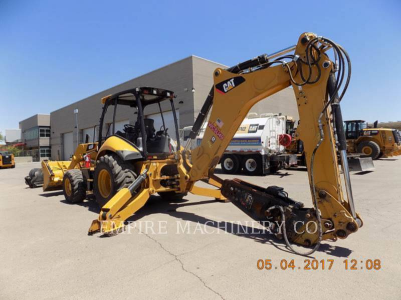 CATERPILLAR BAGGERLADER 450F 4EOMP equipment  photo 3
