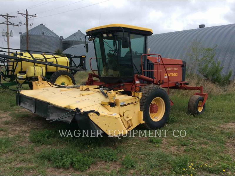 NEW HOLLAND LTD. MATERIELS AGRICOLES POUR LE FOIN HW340 equipment  photo 1