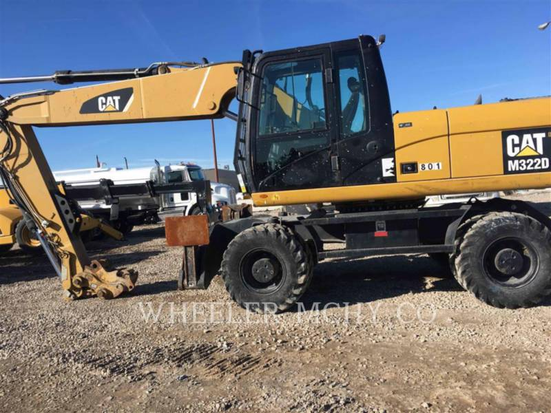 CATERPILLAR TRACK EXCAVATORS M322D equipment  photo 1