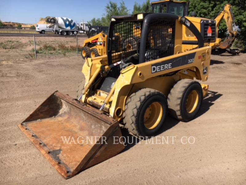 DEERE & CO. CHARGEURS COMPACTS RIGIDES 320 equipment  photo 1