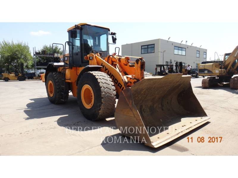 HYUNDAI CONSTRUCTION EQUIPMENT WHEEL LOADERS/INTEGRATED TOOLCARRIERS HL760-7A equipment  photo 4