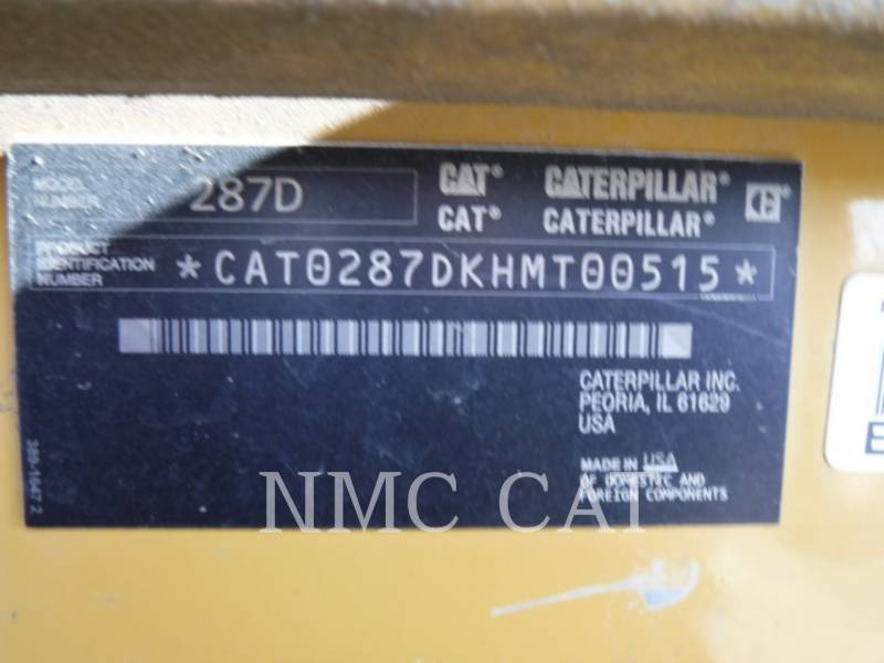 CATERPILLAR CARGADORES MULTITERRENO 287D equipment  photo 6