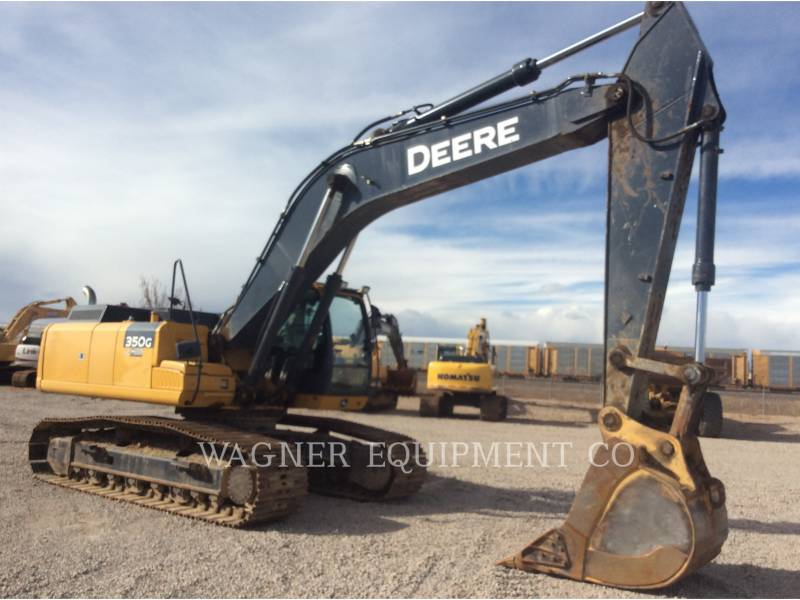 JOHN DEERE EXCAVATOARE PE ŞENILE 350G equipment  photo 3