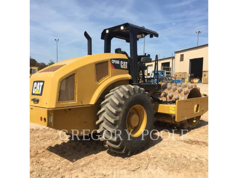CATERPILLAR COMPACTEUR VIBRANT, MONOCYLINDRE À PIEDS DAMEURS CP 56 equipment  photo 20