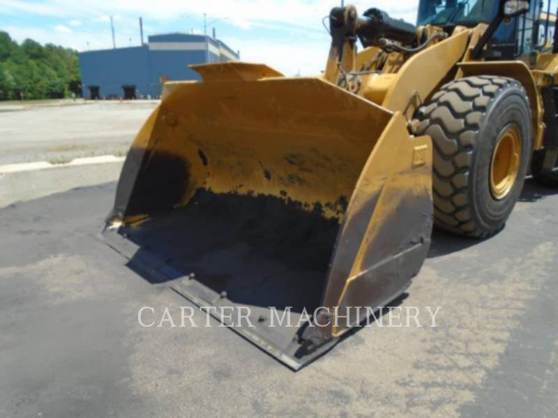 CATERPILLAR CHARGEURS SUR PNEUS MINES 972M equipment  photo 4