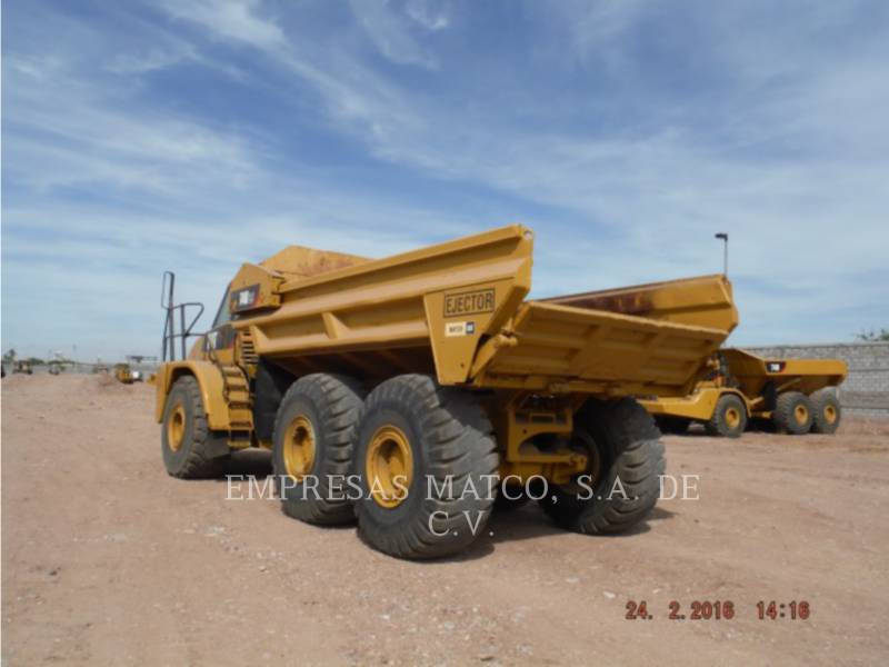 CATERPILLAR DUMPER ARTICOLATI 740 EJECTOR equipment  photo 5