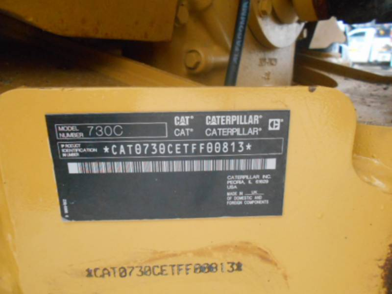 CATERPILLAR ARTICULATED TRUCKS 730C equipment  photo 23