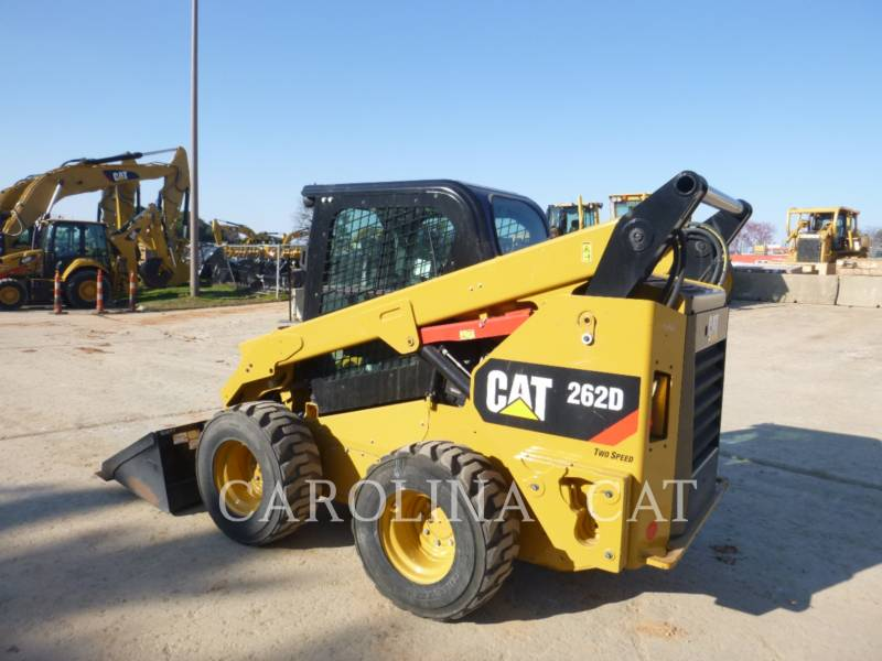 CATERPILLAR CHARGEURS COMPACTS RIGIDES 262D CB equipment  photo 4
