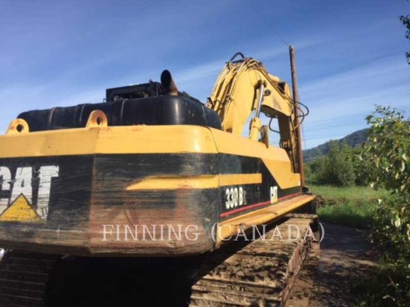 CATERPILLAR TRACK EXCAVATORS 330BL equipment  photo 5
