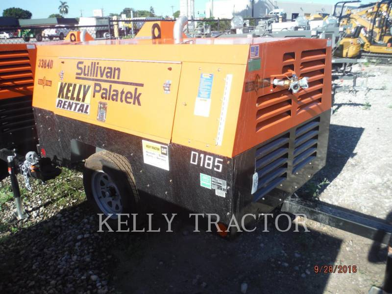 SULLIVAN LUCHTCOMPRESSOR D185P DZ equipment  photo 2