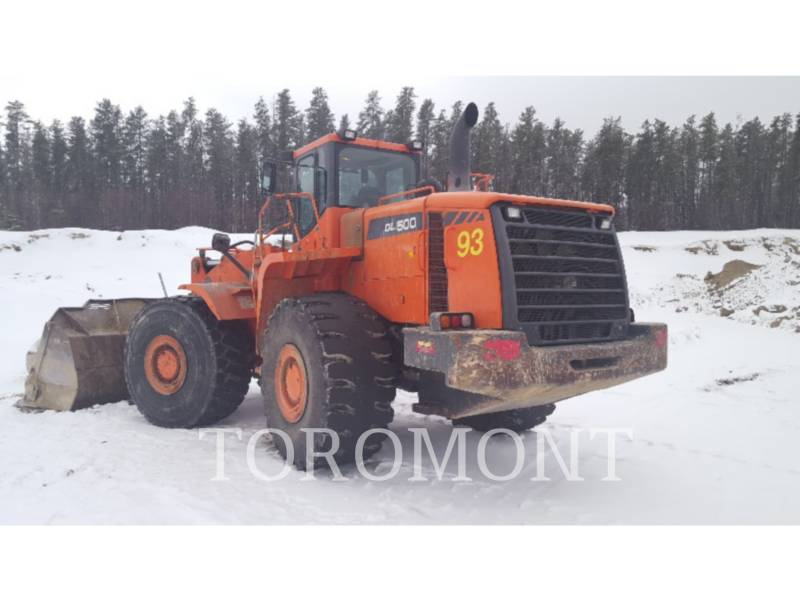 DOOSAN INFRACORE AMERICA CORP. WHEEL LOADERS/INTEGRATED TOOLCARRIERS DL500 equipment  photo 3