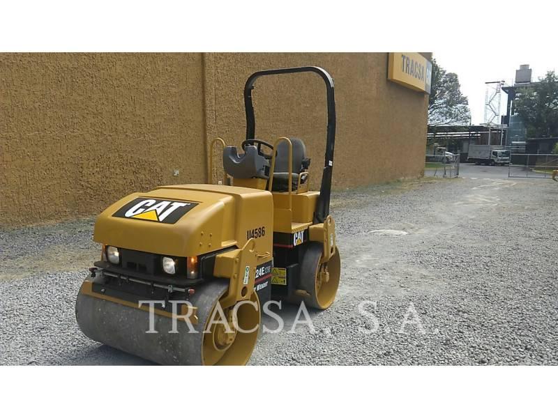 CATERPILLAR ROLO COMPACTADOR DE ASFALTO DUPLO TANDEM CB-224E equipment  photo 2