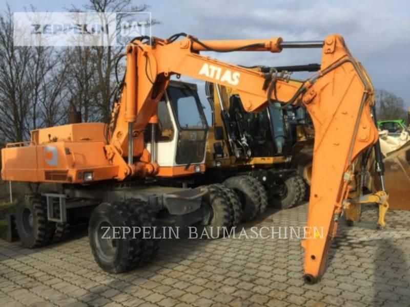 ATLAS WHEEL EXCAVATORS 1604 equipment  photo 2