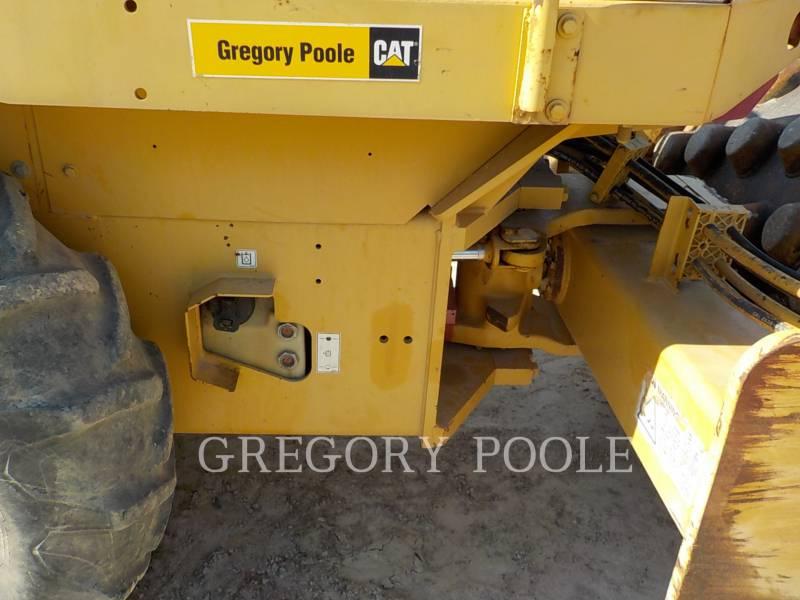 CATERPILLAR VIBRATORY SINGLE DRUM PAD CP-433E equipment  photo 19