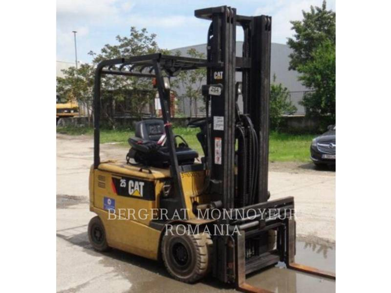 MITSUBISHI CATERPILLAR FORKLIFT EMPILHADEIRAS EP25KPAC equipment  photo 1