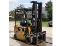 Equipment photo MITSUBISHI CATERPILLAR FORKLIFT EP25KPAC CHARIOTS À FOURCHE 1